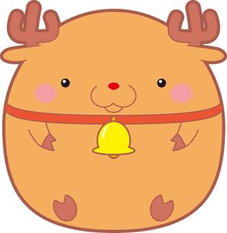 Rolling reindeer