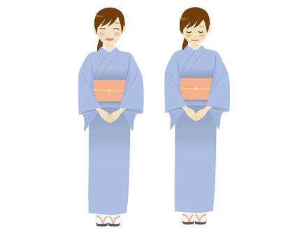 Nakai's kimono woman