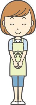 圍裙青年Bob-035-全身