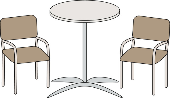 Table & chairs for garden
