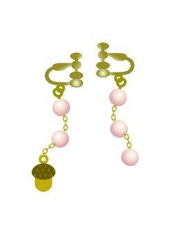 蘑菇與珍珠耳環