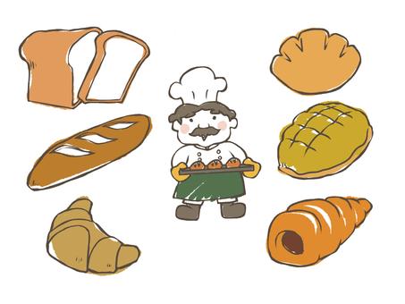 Bread (simple coating)