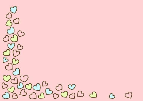 Heart 3 pink tea
