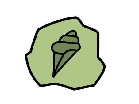 化石殼殼灰