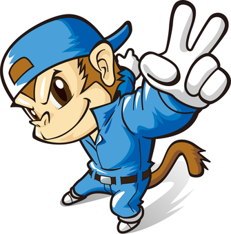 Energetic Monkey