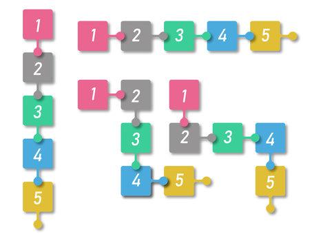 Flow chart (chart) illustration