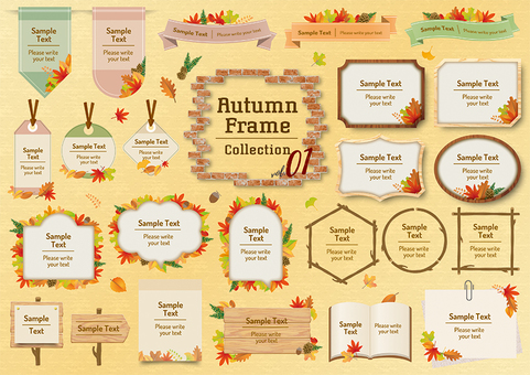 Autumn frame 01