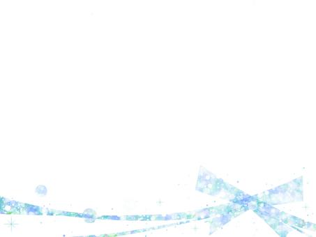 Glitter Line 26 (blue)