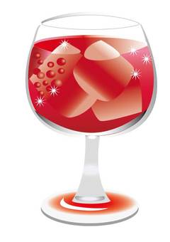 Acerola in a glass A4