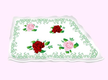 Royal rose design saucer