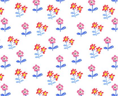 Crayon-style pattern 1