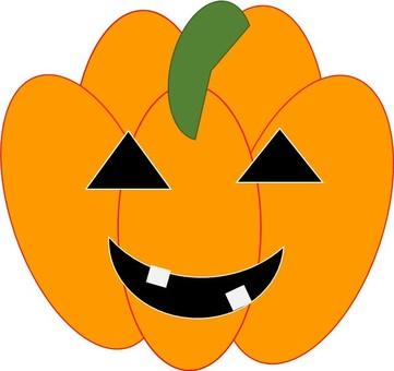 A ghost of a pumpkin