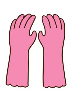 ゴム手袋 1
