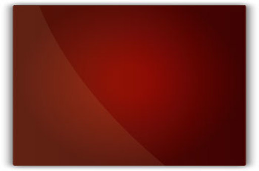 Red glass plate