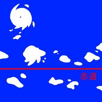 Equatorial low pressure zone