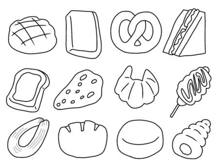 Bread (monochrome)