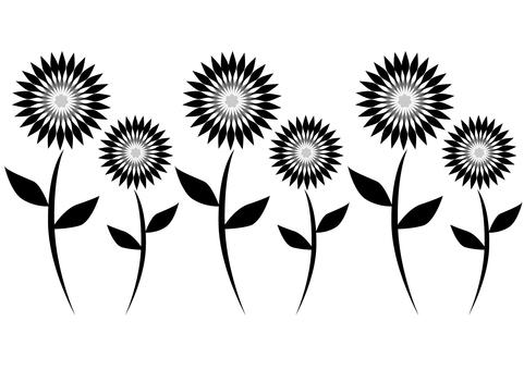 Aligning flowers