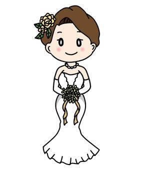 Mermaid A Line Prom Dress