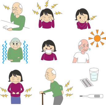 Poor physical condition (older people)