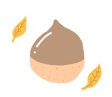 Delicious chestnut