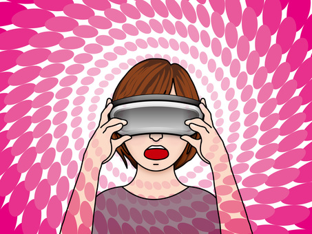 VR goggles (19) The world view surprising girls