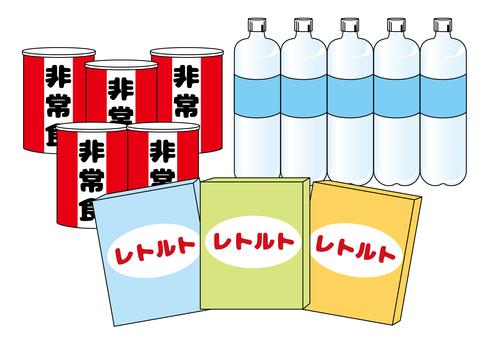 Emergency food summary
