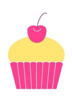 Cupcake (cherry)