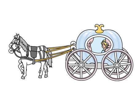 Cinderella (Cinderella and pumpkin carriage)