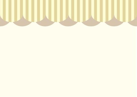 천막 카드 브라운