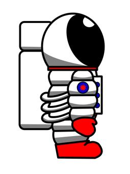 고개 우주 비행사