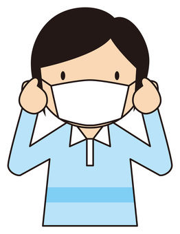 People who mask (colds prevention)