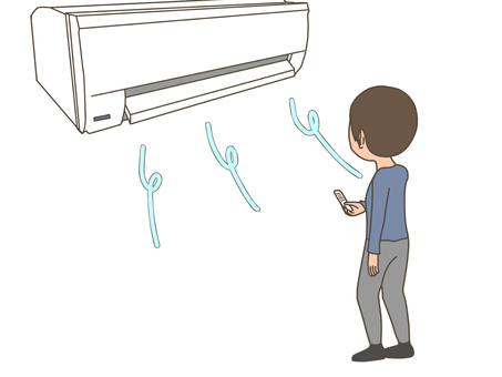 Men, air conditioning, air conditioning