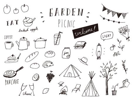 Picnic garden