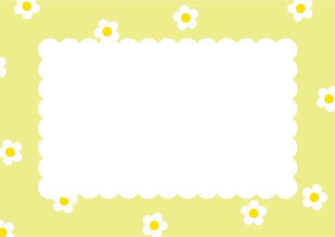 Flower garden frame