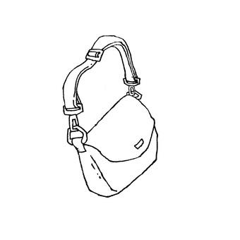 Shoulder back (monochrome)