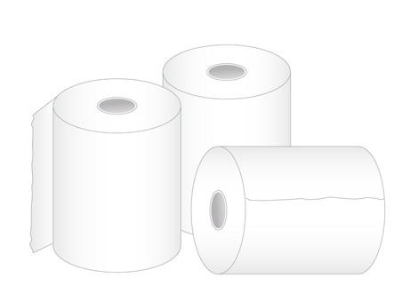 Multiple toilet paper