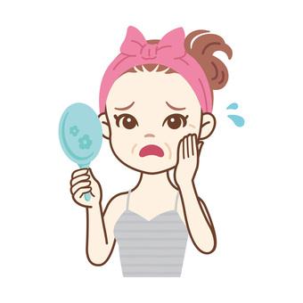Skin care women_wrinkles