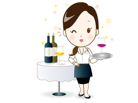 Waitress 2 (Wine)