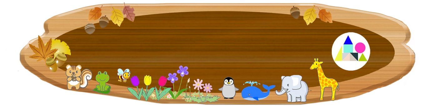 Signboard base comp for kindergarten and children's garden