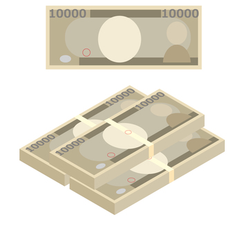 Money bill ¥ 10,000