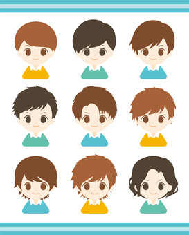 Boys Hairstyles Various