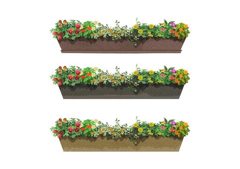 Flower bed 001
