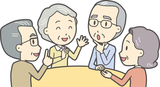 高齢者の生活-001-セット
