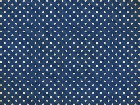 Vintage style dot (navy blue)