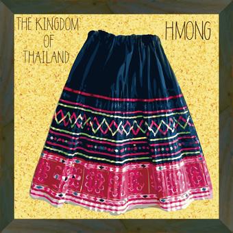 タイ山岳地帯「モン族Hmong」民族衣装