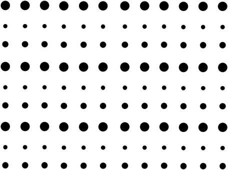 물방울 무늬 (블랙)