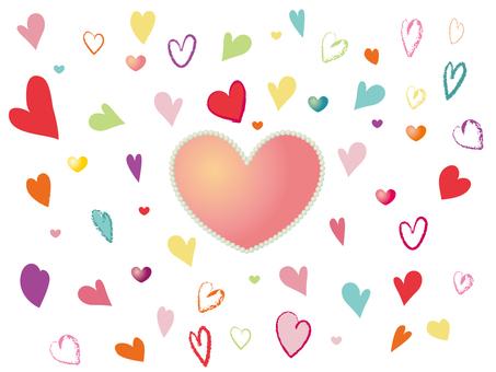 Various hearts 1