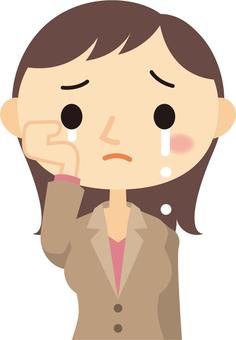 OL 눈물