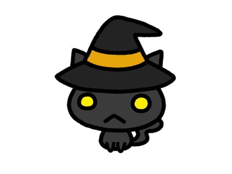Halloween Cat Black 2