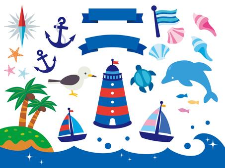 Sea illustration collection (5)